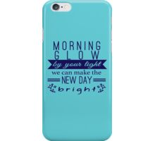 morning glow iPhone Case/Skin