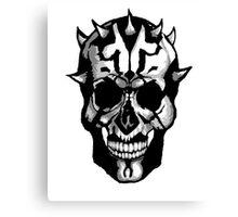 Sith Skull Canvas Print