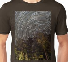 County Border Star Trails - Northern Wisconsin Unisex T-Shirt