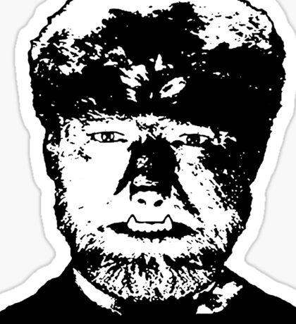 Wolfman Sticker