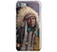 Colorized American Indian Chief  iPhone Case/Skin