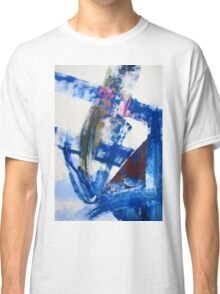 One today is worth two tomorrow - Original Wall Modern Abstract Art Painting Original mixed media Classic T-Shirt