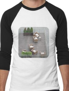 Seating Arrangement  Men's Baseball ¾ T-Shirt