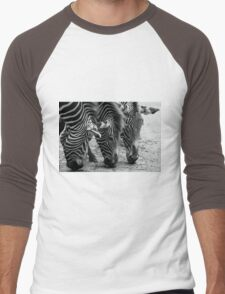 Zebra Men's Baseball ¾ T-Shirt
