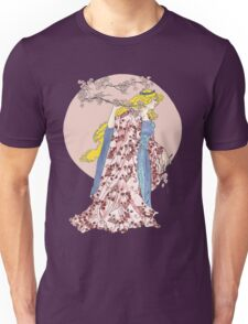 Cherry Blossom Moon Unisex T-Shirt