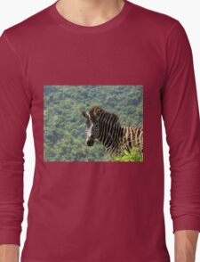 Zebra Long Sleeve T-Shirt