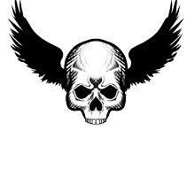Skull Blackwings by Kuauh