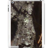 Uncanny Entities, Tree Bark People iPad Case/Skin