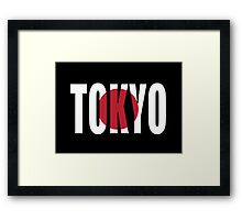 Tokyo. Framed Print