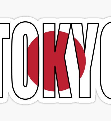 Tokyo. Sticker
