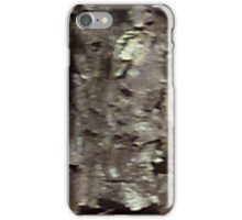 Uncanny Entities, Tree Bark People, 2 little ones iPhone Case/Skin