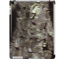 Uncanny Entities, Tree Bark People, 2 little ones iPad Case/Skin