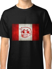 Scott Pilgrim Canada flag edition Classic T-Shirt