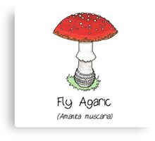 Fly Agaric (without smiley face) Canvas Print