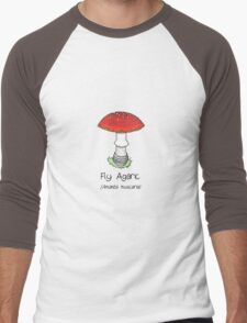 Fly Agaric (without smiley face) Men's Baseball ¾ T-Shirt