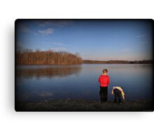 Boys Will Be Boys Canvas Print