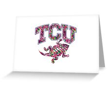 TCU Greeting Card