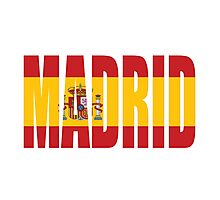 Madrid. Photographic Print