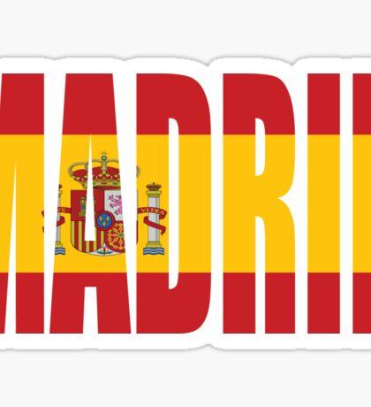 Madrid. Sticker