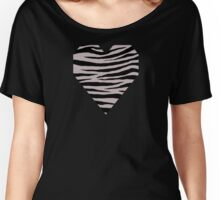 0465 Black Shadows Tiger Women's Relaxed Fit T-Shirt