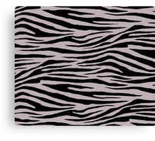 0465 Black Shadows Tiger Canvas Print