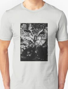 Owl drawing photorealistic Unisex T-Shirt
