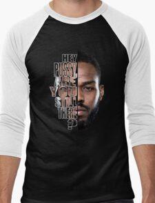 Jon jones quote Men's Baseball ¾ T-Shirt