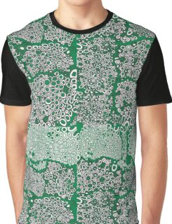 I don't know green black and white honeycomb pattern Graphic T-Shirt