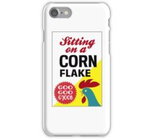 Sitting On A Corn Flake iPhone Case/Skin