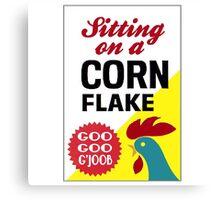 Sitting On A Corn Flake Canvas Print