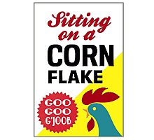 Sitting On A Corn Flake Photographic Print