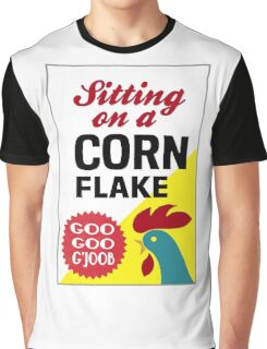 Sitting On A Corn Flake Graphic T-Shirt