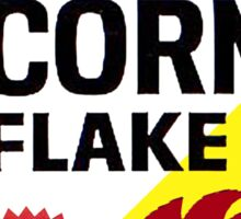 Sitting On A Corn Flake Sticker