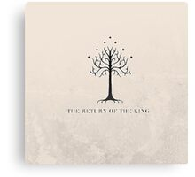 The Return of the King // The Lord of the Rings Canvas Print