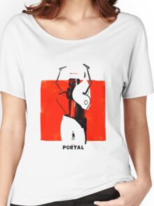 Portal Gun Women's Relaxed Fit T-Shirt