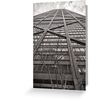 360 Building  Greeting Card