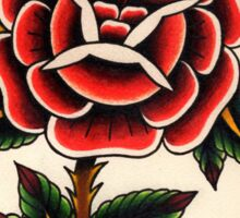 Cabbage Rose Sticker