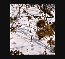 Burrs in the snow T-Shirt