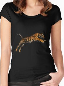 Tiger 4 Women's Fitted Scoop T-Shirt