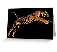 Tiger 4 Greeting Card