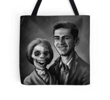 Bates Family Portrait Tote Bag
