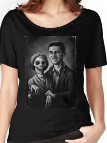 Bates Family Portrait Women's Relaxed Fit T-Shirt