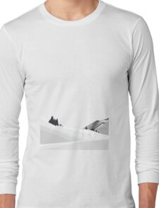 snowy mountains 1 Long Sleeve T-Shirt