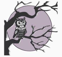 Night Owl Badge  One Piece - Short Sleeve