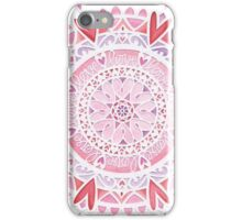 'Love Mandala' papercut iPhone Case/Skin