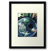 Hank hill, in space! Framed Print