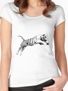 Tiger 5 Women's Fitted Scoop T-Shirt