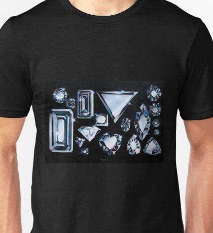 Dancing Diamonds Unisex T-Shirt