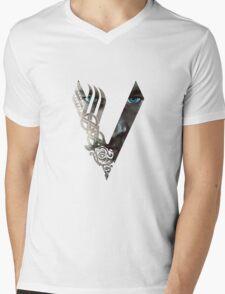 Ragnar Lothbrok Mens V-Neck T-Shirt