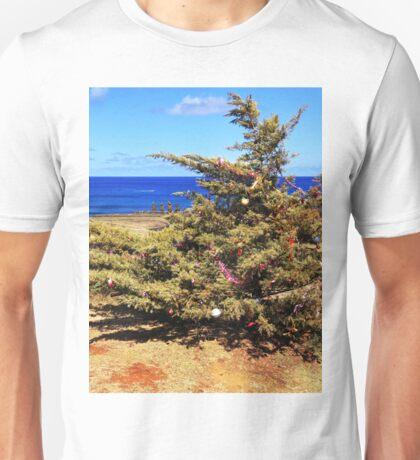 Christmas Tree on Easter Island - Rapa Nui Unisex T-Shirt